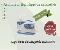 Aspirateur électrique de mucosités